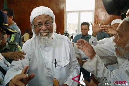 Ma'ruf Amin mengucap syukur Presiden izinkan pembebasan Ba'asyir