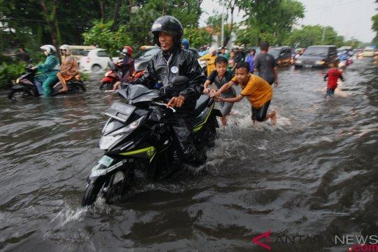 Banjir di Kota Pamekasan berangsur surut