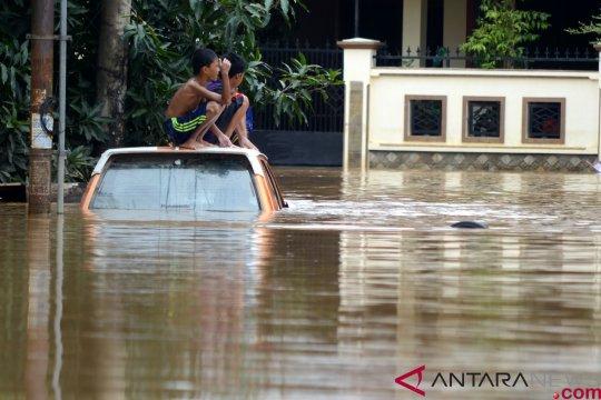 Sebagian besar banjir Sulawesi Selatan sudah surut