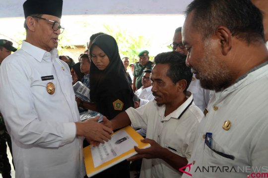 17,8 hektare hunian tetap korban tsunami disiapkan Pemprov Banten