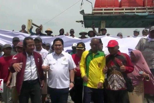 TKN Jokowi-Amin bahas cantrang dengan nelayan Pantura