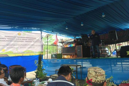 Lampu tenaga surya terangi 16 desa di Bengkulu