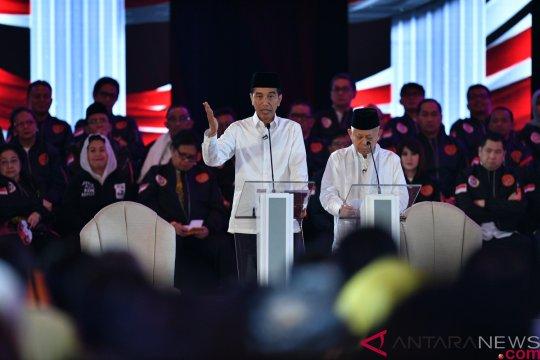 "Jokowi-Amin: kami tidak punya ""potongan"" diktator"