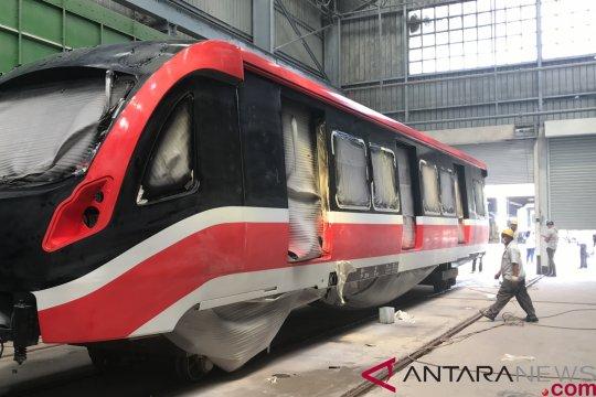 INKA Juni kirim empat rangkaian LRT Jabodebek