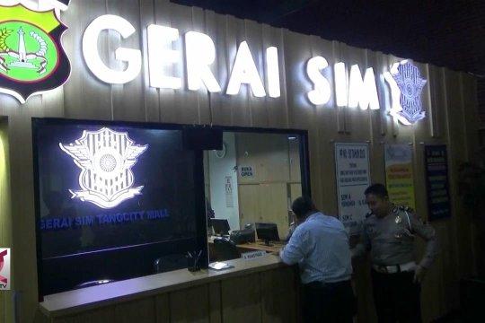 Tangerang miliki gerai pelayanan SIM di pusat perbelanjaan