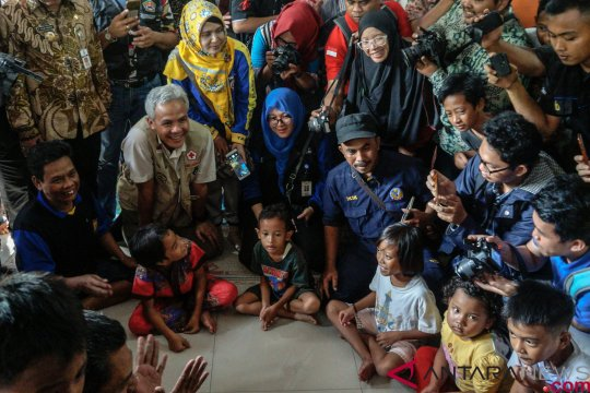3.189 warga masih mengungsi akibat banjir di Jawa Tengah