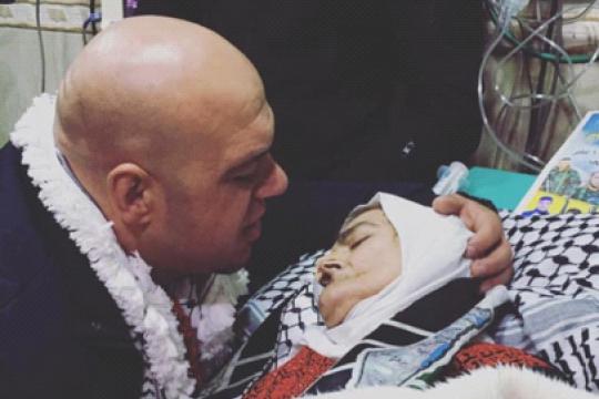 Ibu dan anak Palestina bersatu lagi walau sesaat