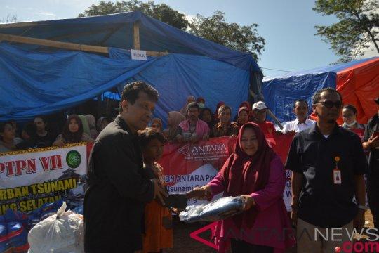 LKBN Antara bantu korban tsunami di Lampung
