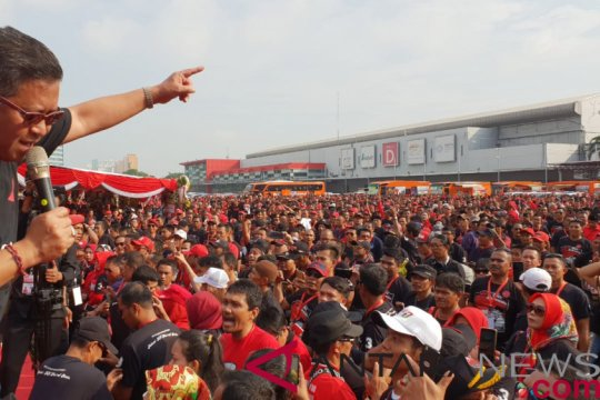 Melalui senam jantung PDIP ajak masyarakat pilih Jokowi