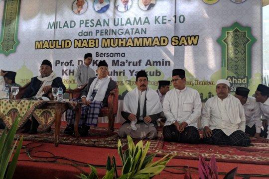 Ma'ruf Amin ingatkan pentingnya kesantunan bermedia sosial