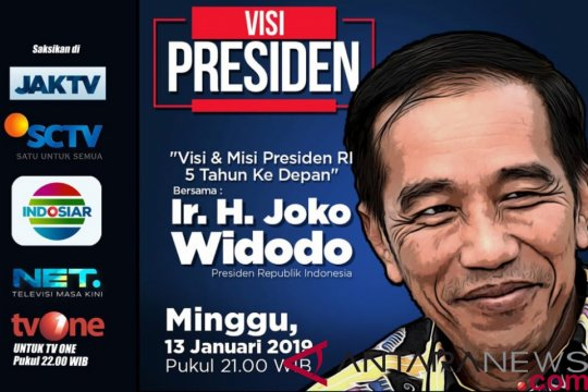 Bawaslu menggelar rapat pleno bahas pemaparan visi Jokowi