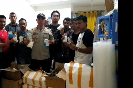 Polisi ungkap gudang narkoba di Apartemen Park View Kembangan