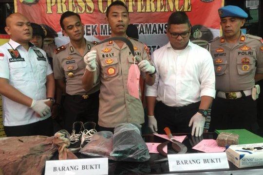 Polisi tangkap pelaku otak pengeroyokan  tewaskan Nanda di Taman Sari