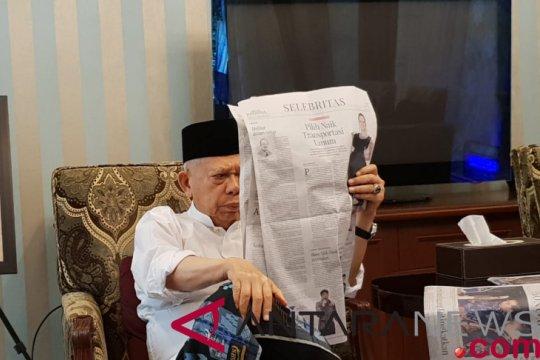 Ma`ruf Amin lanjutkan kegiatan di Rumah Situbondo