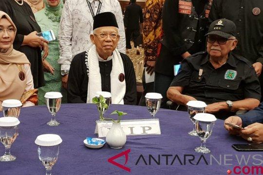 KH Ma'ruf Amin sebut hoaks sebagai tsunami teknologi