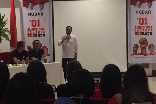 Swing voters alumni SMA se-Jakarta beri dukungan Jokowi-Ma'ruf