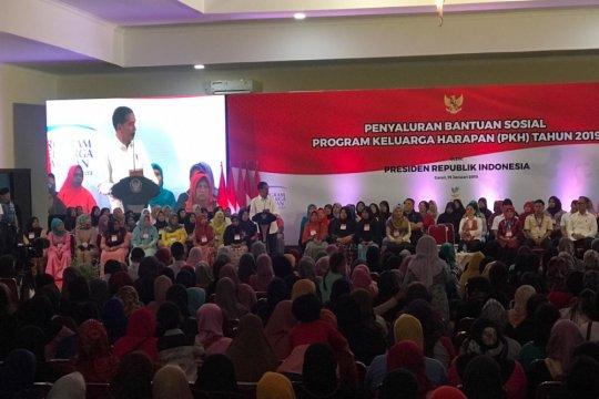 Presiden Jokowi berharap PKH kurangi ketimpangan