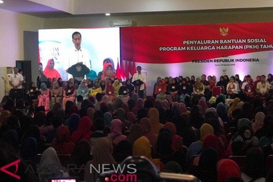 Presiden minta pemberdayaan ekonomi mendapat prioritas dalam PKH