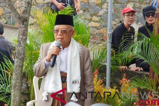 KH Ma'ruf didukung ulama dan kiai Tangerang