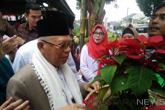 Ma'ruf Amin akan  terapkan program yang sejahterakan petani