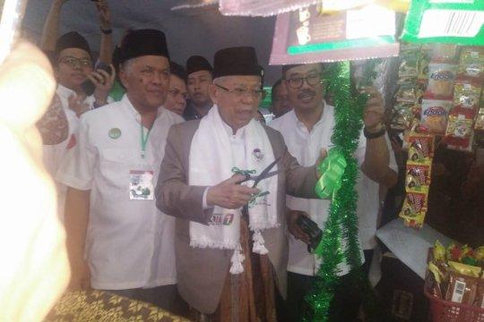 Ma'ruf Amin: Rombong Arbi wujud konkret pemberdayaan ekonomi rakyat