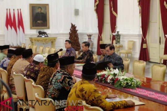 Presiden terima pengurus Lembaga Persahabatan Ormas Islam