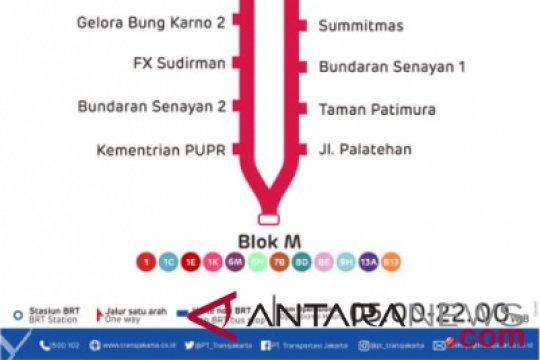 Transjakarta Membuka Rute Baru Tanah Abang - Blok M