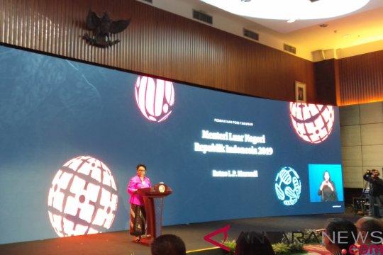 Menlu: 2019 tahun sibuk bagi diplomasi Indonesia