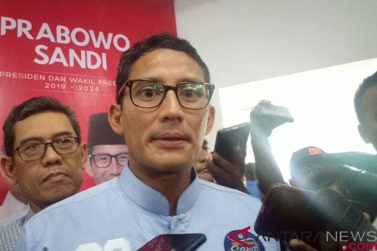 Prabowo-Sandi berkomitmen meningkatkan pembangunan infrastruktur