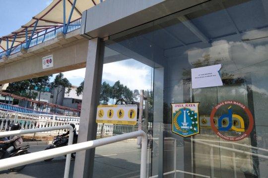 Operasional lift JPO Jelambar tunggu pelatihan petugas selesai