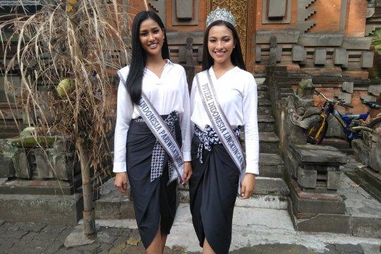 Dua Putri Indonesia ajak masyarakat tidak terpengaruh hoaks