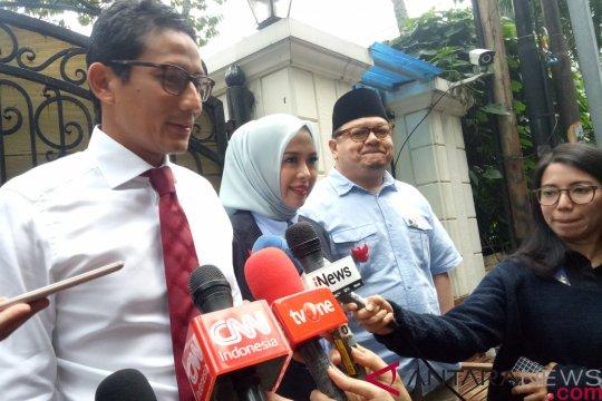 Prabowo-Sandiaga berangkat bersama dari kediaman Prabowo