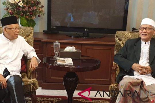 KH Ma'ruf Amin disambangi pejabat Rais A'am PB NU