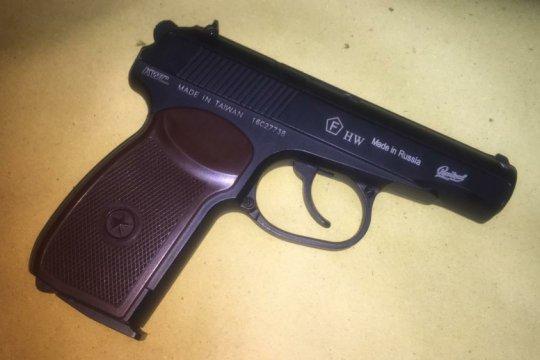 Polisi ringkus pemilik airsoft gun tanpa surat resmi