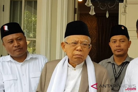KH Ma`ruf Amin resmikan posko TKD Depok
