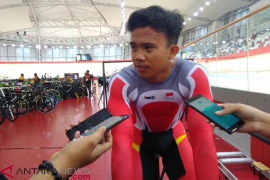 Angga Dwi Wahyu Prahesta raih perunggu nomor points race
