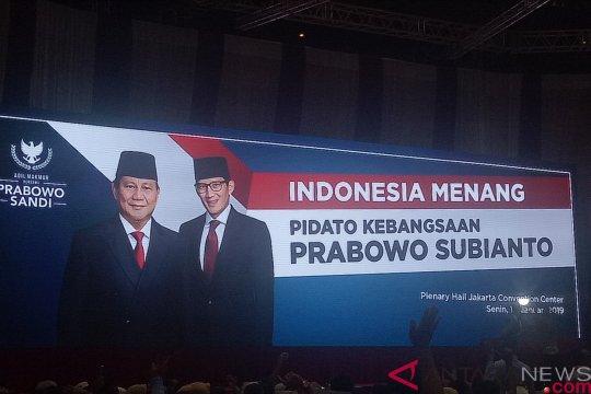 Prabowo imbau personel TNI-Kepolisian Indonesia setia pada negara