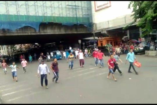 Dua tersangka ricuh PKL Tanah Abang diduga provokator