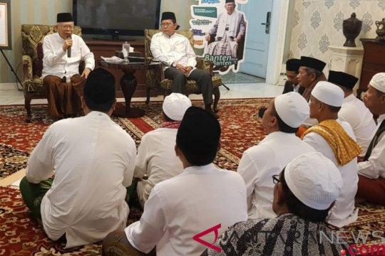 KH Ma'ruf Amin terima dukungan kiai kampung se-Madura