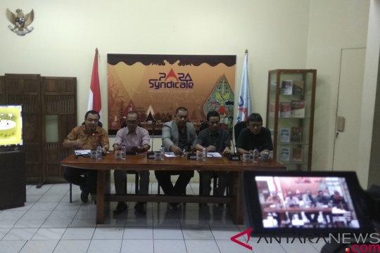 Para Syndicate: pasangan capres-cawapres tidak mengelaborasi visi-misi dengan baik