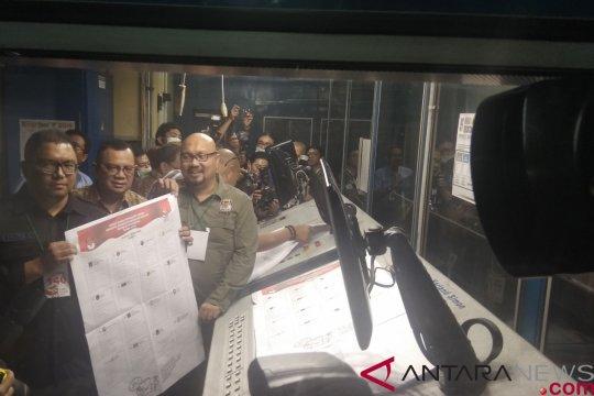 KPU tinjau pencetakan perdana surat suara Pemilu 2019