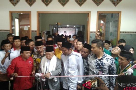 Ma'ruf Amin resmikan Kantor TKD Trenggalek