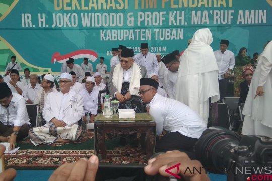 Ma'ruf Amin: Presiden Jokowi sangat hormati NU