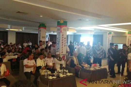 Ma'ruf Amin hadiri deklarasi dukungan milenial dan santri Kalsel