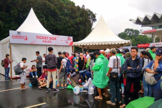 Calon penonton Indonesia Masters antri dari subuh