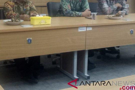 Tiga calon wakil gubernur DKI dari PKS Silaturahim ke PPP