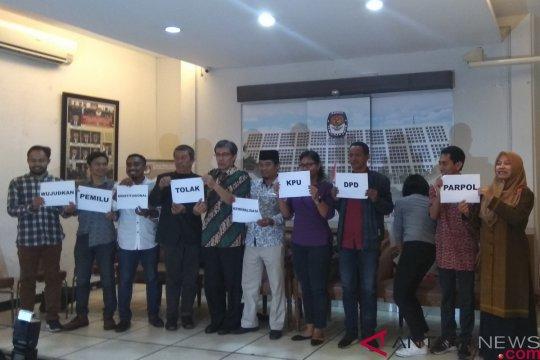 Elemen masyarakat sipil kutuk pemidanaan Anggota KPU oleh OSO
