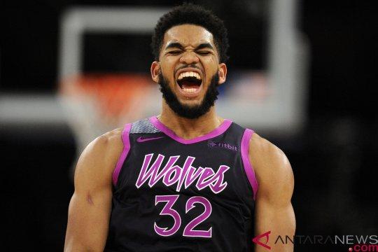 """""""Buzzer-beater"""" Towns pastikan kemenangan Timberwolves atas Grizzlies"""