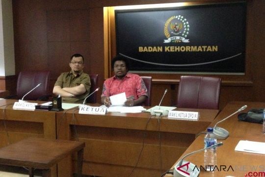 BK DPD: Pemberhentian sementara tidak ada unsur politis