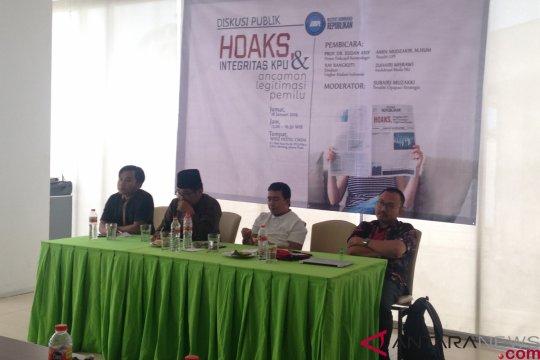 Tiga daerah dengan tingkat penerimaan hoaks tinggi menurut survei LIPI